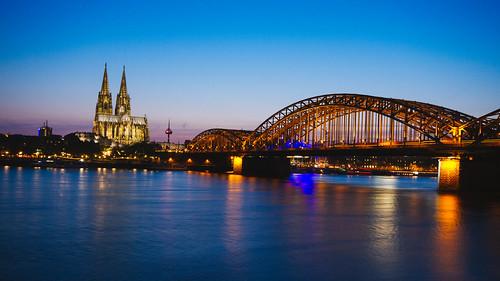 köln dome germany deutschland 2016 longexposure night river rhine cathedral kolnerdome urbanlandscape