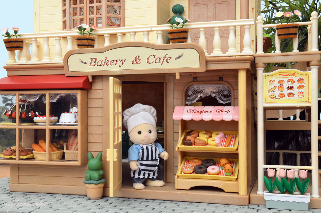 Sylvanian Families Bakery Cafe Come Inside And Have A L Flickr