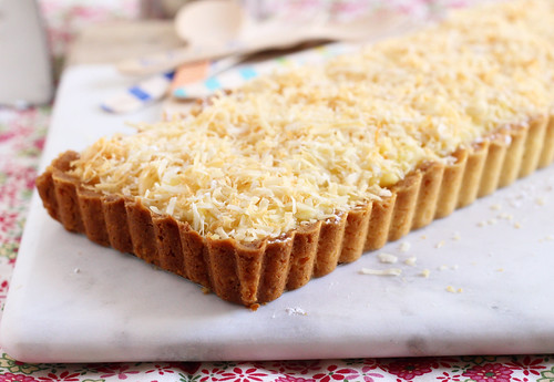 Sweet Coconut Tart | by Made In Our Kitchen