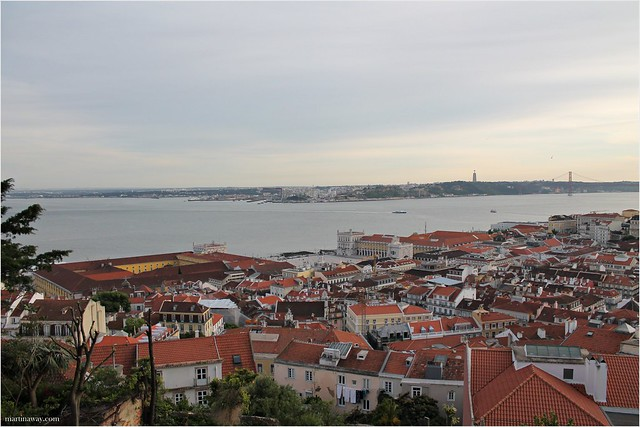 View from the Castle.