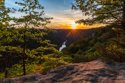 may sunsets westvirginia newriver newrivergorge starbursts fayettecounty 2015 riversandstreams greatskies beautymountain may2015 canon16354l