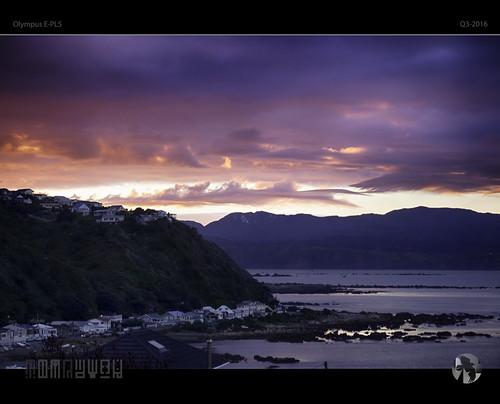 dawn sky coast coastal sunrise morning islandbay newzealand tomraven aravenimage q32016 olympus epl5