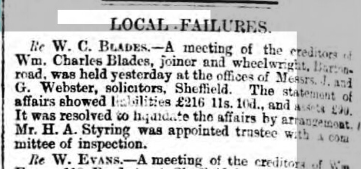Sheffield Daily Telegraph - Thursday 01 March 1877
