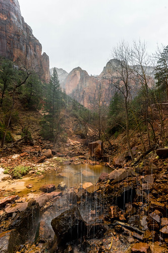 Lower Emerald Pools | by High Trails