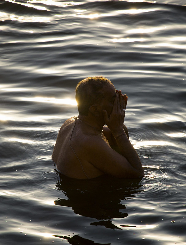 Ablutions In The Ganges, Varanasi