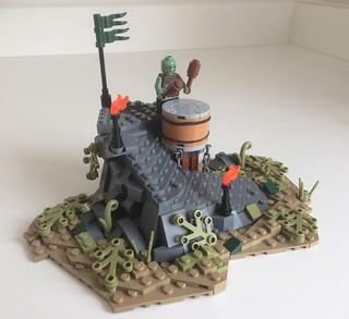 Orc War Drummer.