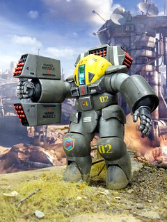 "Dorvack +++ 1:24 PAM-74 ""Tinkle Bell"" powered armor suit (Aoshima kit) 