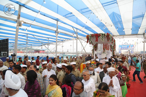 Procession enter in the Samagam Pandal