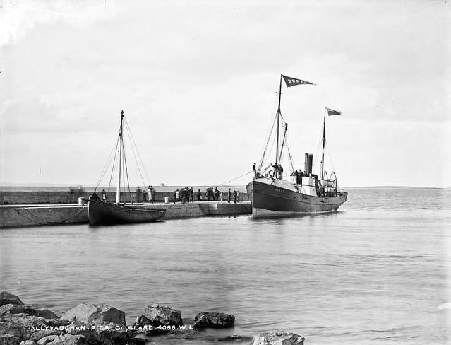 Pier, Ballyvaughan, Co. Clare
