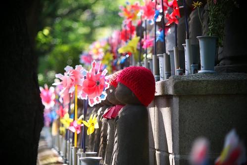 増上寺 千躰子育地蔵尊   Zojoji Temple Tokyo (क्षितिघर्भ [Kṣitigarbha])
