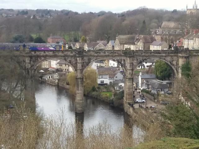 River Nidd Knaresborough Yorkshire