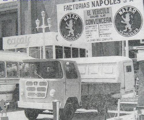 camió Nazar % Tm fira de Barcelona 1964 Col·lecció Manolo Fernández