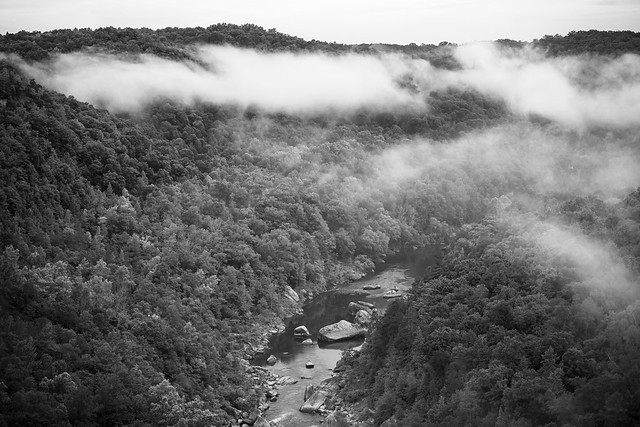 Appalachian monochrome