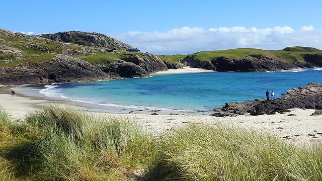 Beautiful coastline of North West Scotland