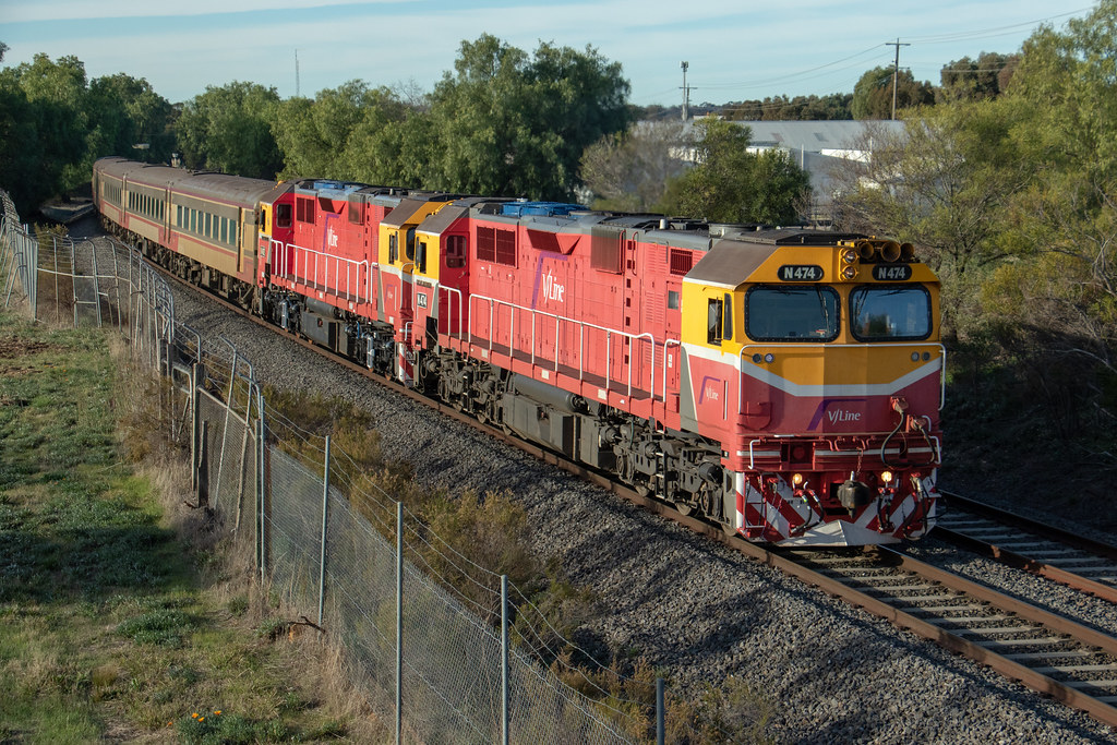 N474 'City of Traralgon', N462 'City of Shepparton' 8042