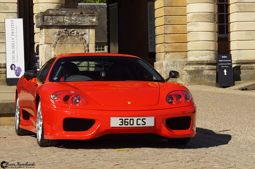 Ferrari 360 Challenge Stradale In The Early 2000s As The Flickr