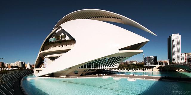 Palau de les Arts Reina Sofía, Ciudad de las Artes y las Ciencias - València, Spain