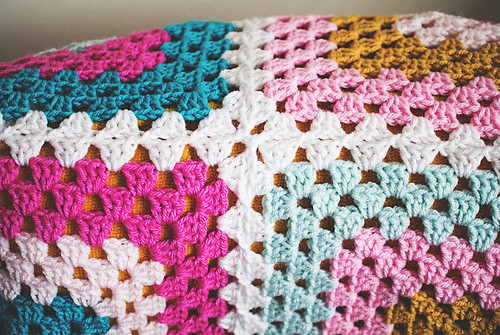 Granny Four Square joined | by Lisa | goodknits