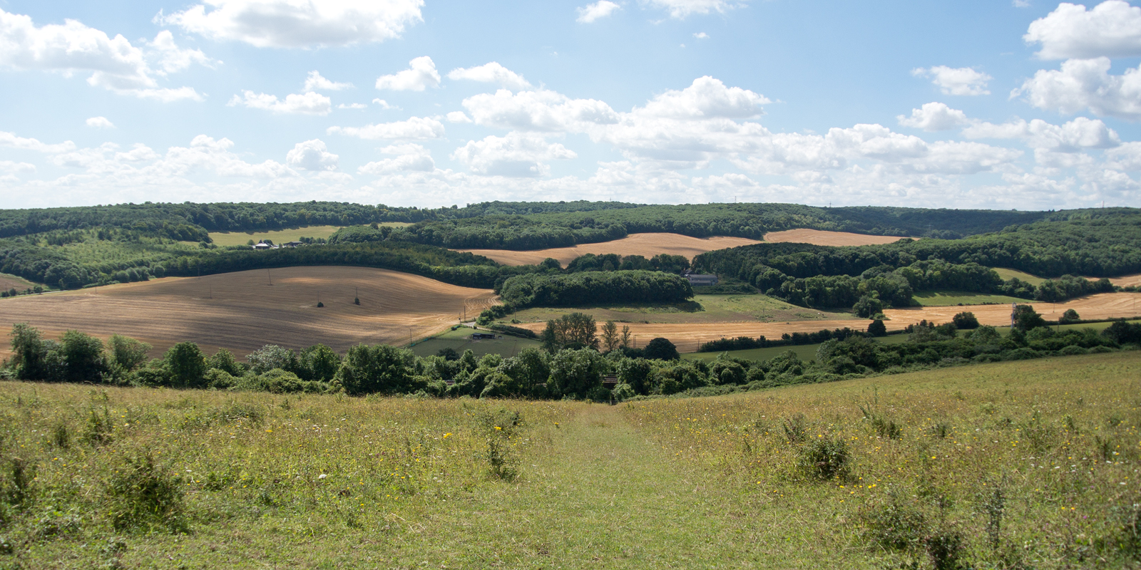 Kent Countryside Cuxton to Halling