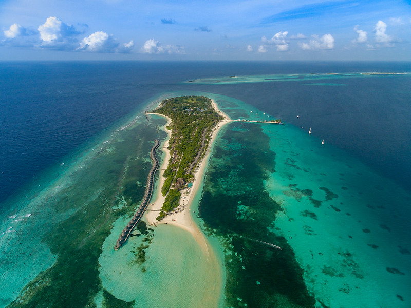 Malediven Luftbild