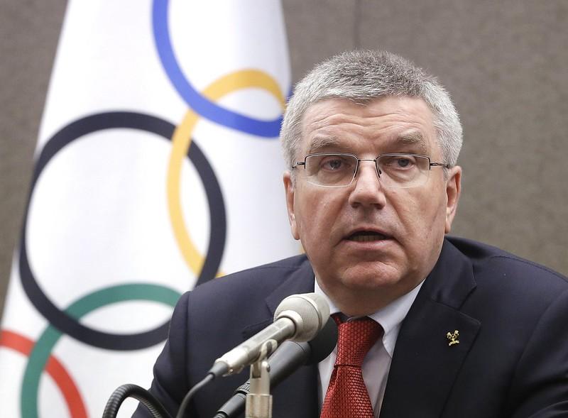 國際奧會主席Thomas Bach。(達志影像資料照)