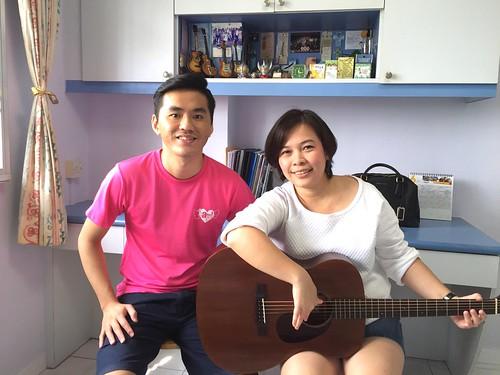 Guitar lessons Singapore Farida
