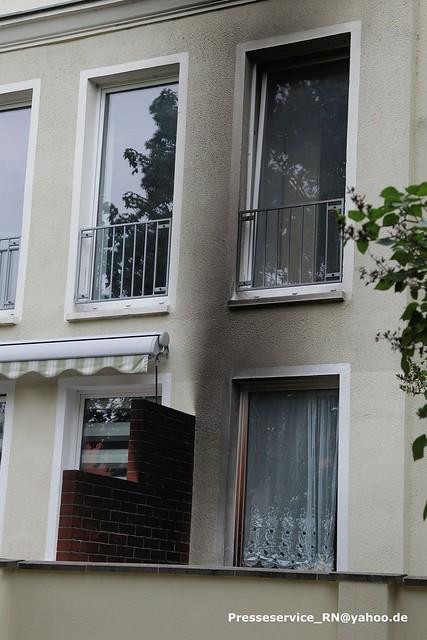 2016.07.12_01 Premnitz Brand Fluechtling Wohnung (1)
