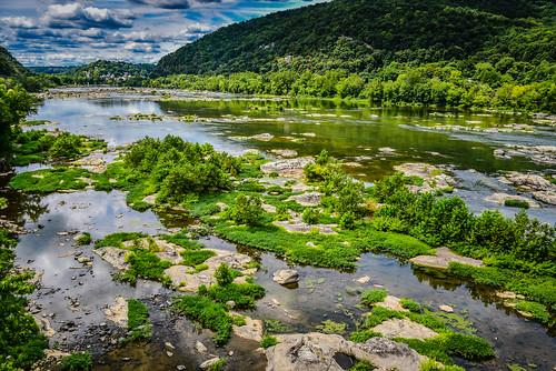 knoxville maryland unitedstates us potomac river harpers ferry national historical park nps america american usa harpersferry water va wva wv rocks rock