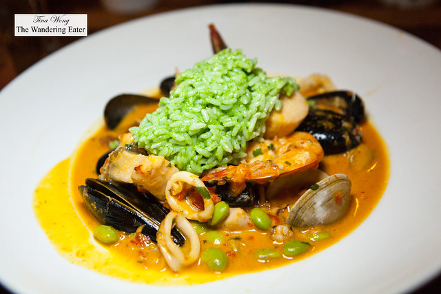 Moqueca Mixta (Brazilian style seafood stew)
