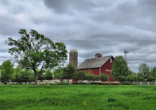 Hannaford barn HDR  20150519 | by Kenneth Cole Schneider