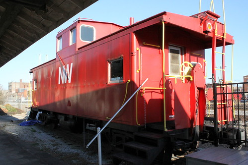 NW Caboose - Old Smoky Railway Museum