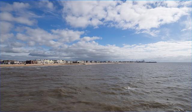 Sea front at Blackpool