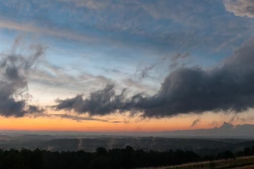 sunset clearing weather summer harvardma newengland canon5dmarkii