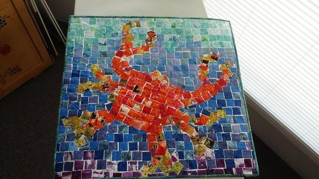 Crusty Crab Tile Mosaic