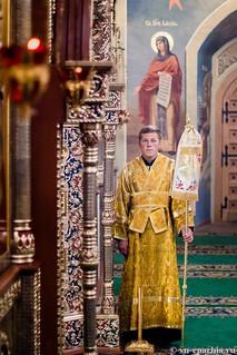 Литургия в Иверском монастыре 110