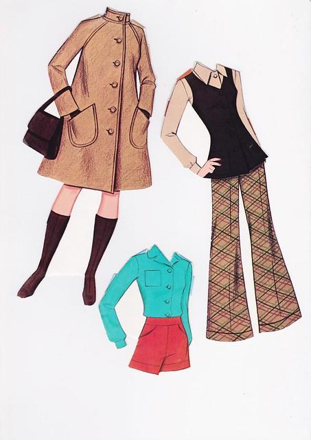 Quick Curl Barbie Paper Doll 1975