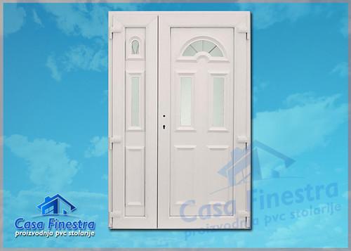 Casa Finestra panel vrata dvokrilna sa 3D sarkom | by casafinestra