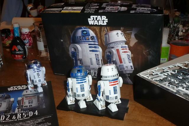 BanDai - R2-D2 & R5-D4