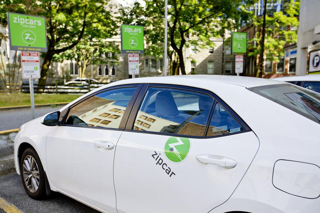 Zipcar Car Sharing Gotovan Flickr