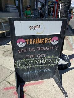 Crema Pokemon go stop #junctionTo | by False Positives