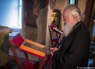 Литургия в храме Сергия Радонежского 150