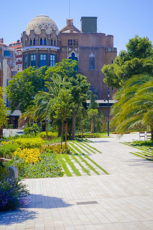 Hospital de la Santa Creu i Sant Pau Больница Святого Павла в Барселоне