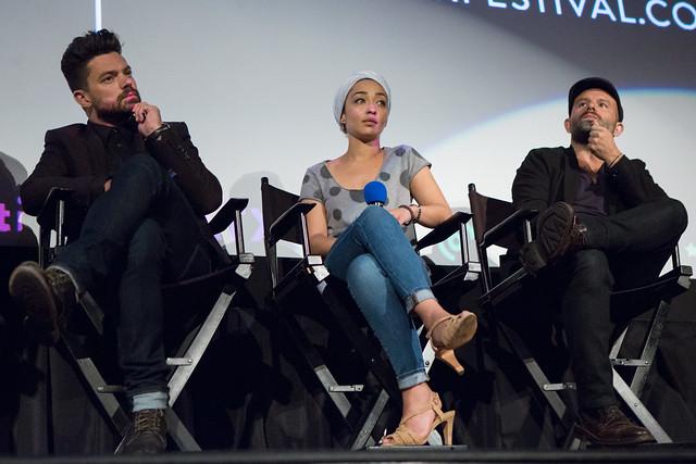 Dominic Cooper, Ruth Negga and Anatol Yusef