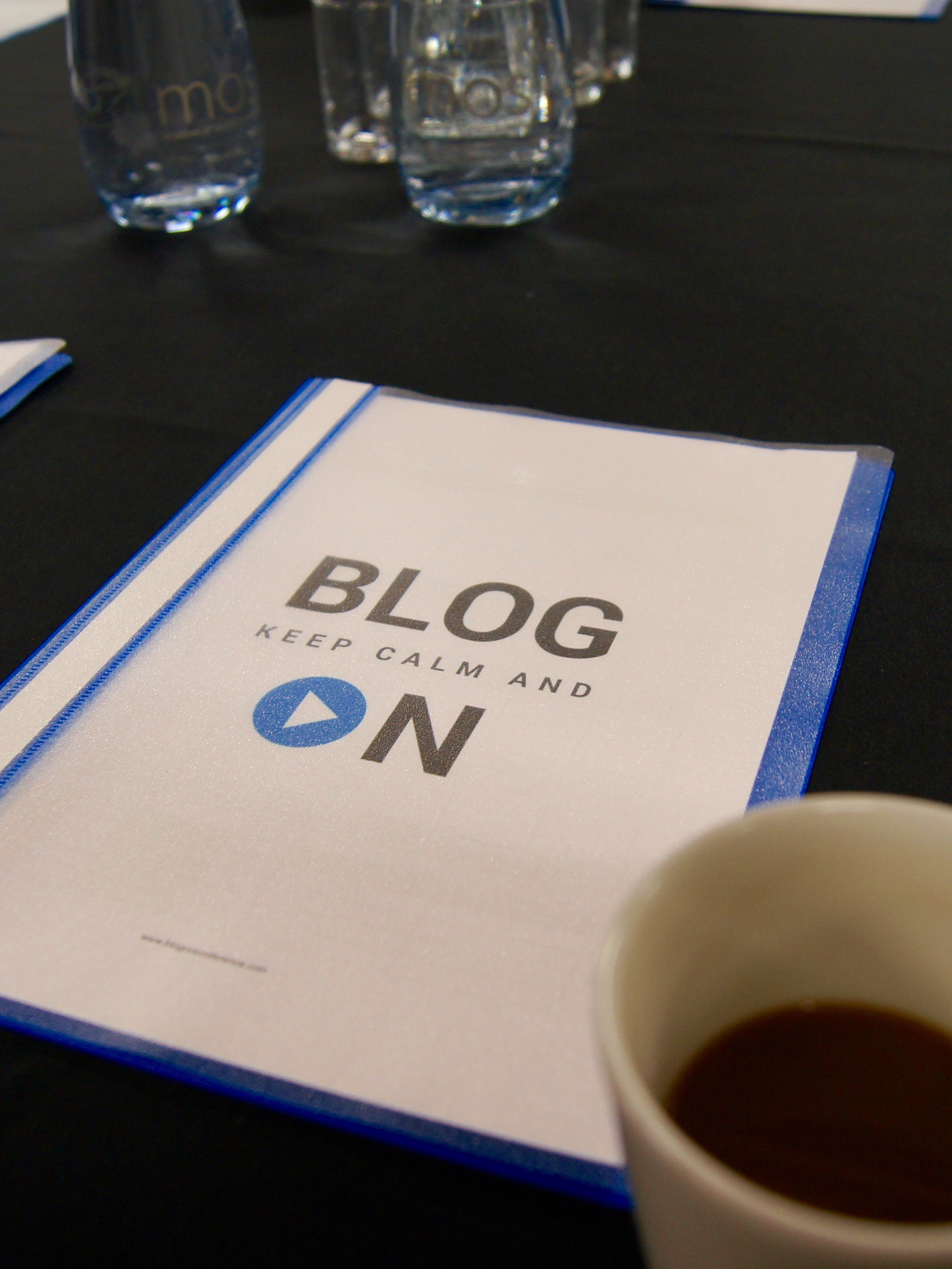 Blogging Conference: I went to Blog On Mosi