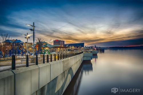 kentucky ohioriver owensboro smotherspark sunset downtown lazydayz wall