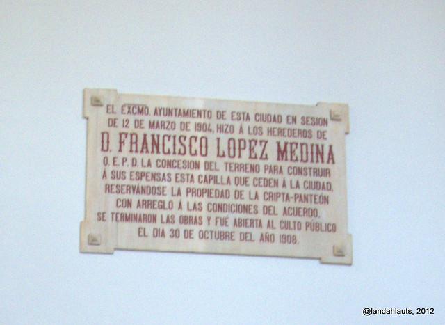 Capilla Neorrománica (1908) - Detalle