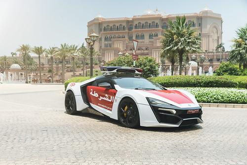 Abu Dhabi Police - Lykan Hypersport (Official Press) | by Felix Berndt Photography