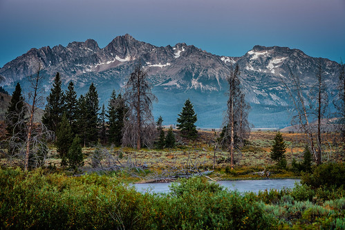 mountains morning sunrise rivers idaho canon5dii ef24105mmf4l landscape