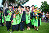 Windward Community College agripharmatech students at the campus' commencement ceremony on May 16, 2015 at the Pavilion at Hale Akoakoa. (Photos by Bonnie Beatson and Jessica Crawford)