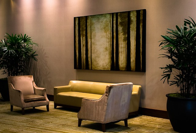 A lobby for relaxation